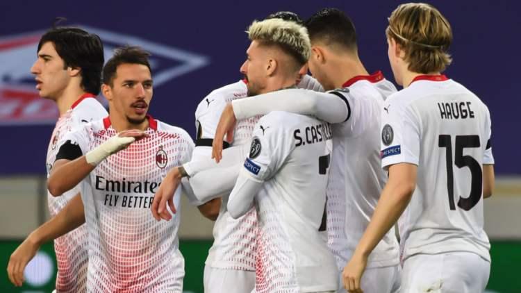 Lille Milan classifica Europa League