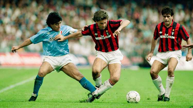 Milan video messaggio Maradona morte