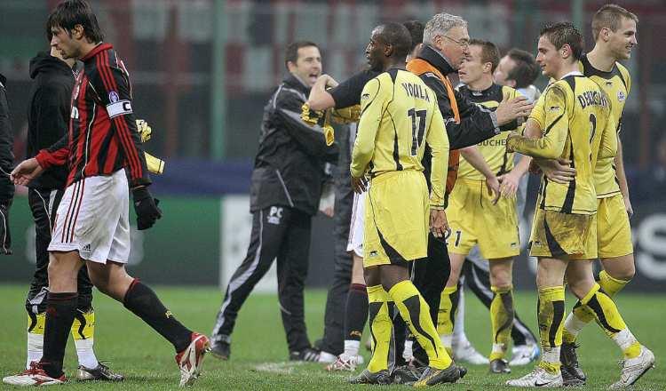 Milan Lille precedenti