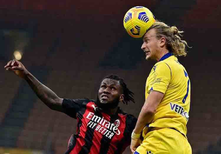 classifica serie adopo Milan-Verona