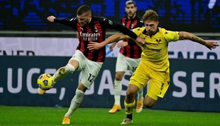 Ante Rebic titolare Napoli Milan
