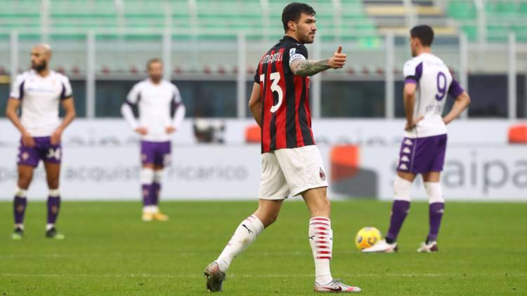Romagnoli Milan Fiorentina