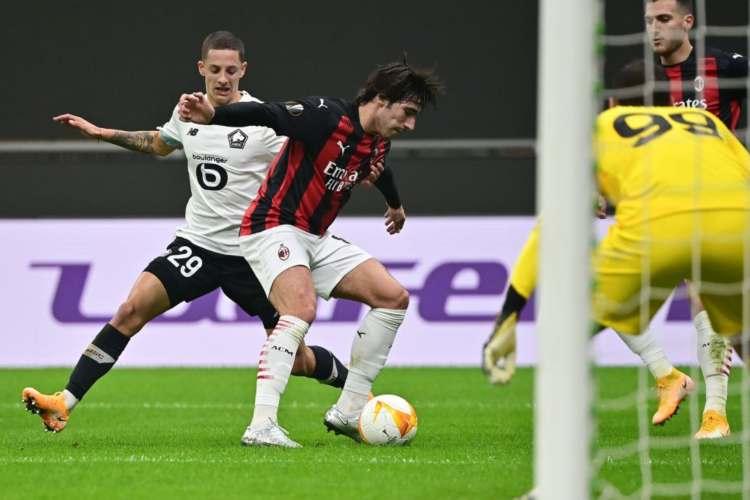 Pagelle Milan Lille