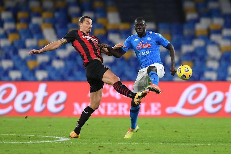 Ibrahimovic Koulibaly gomitata