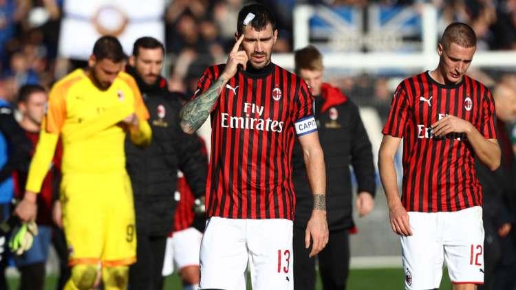 Atalanta Milan 5 0 disfatta rossonera