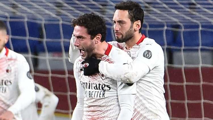 Calhanoglu Calabria sostituire Tonali Milan Lazio