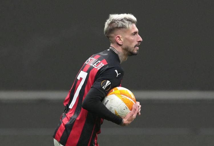 Samu Castillejo post Milan-Celtic