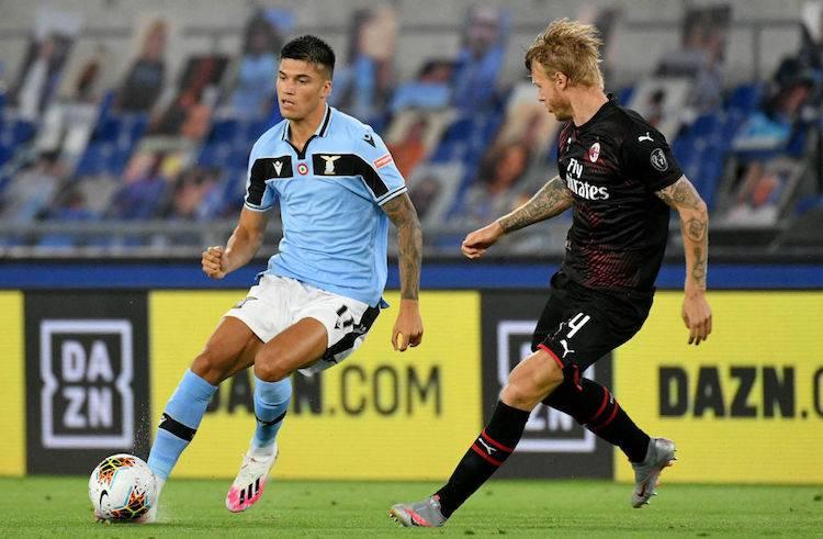 infortunio Correa Lazio-Milan