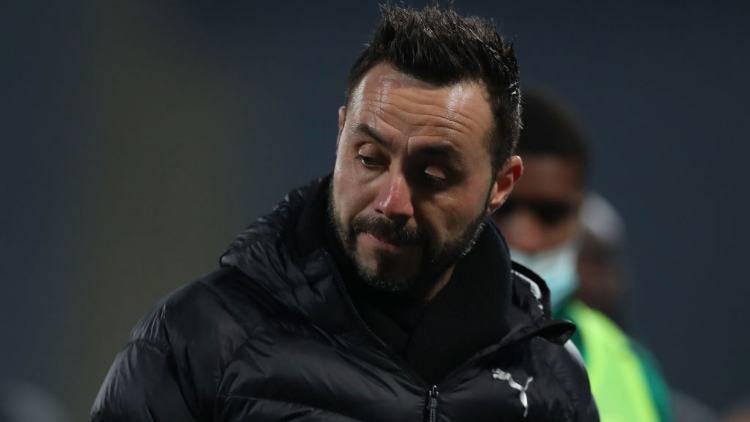 De Zerbi perde Locatelli Sassuolo Milan