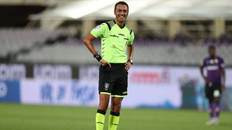 Di Bello arbitro Milan Lazio