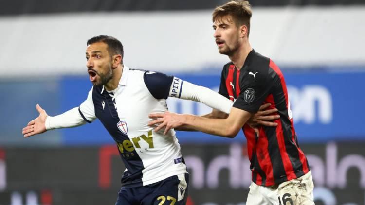 Gabbia contento Sampdoria Milan