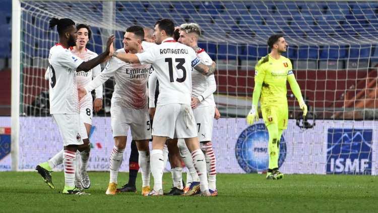 Genoa Milan classifica Serie A