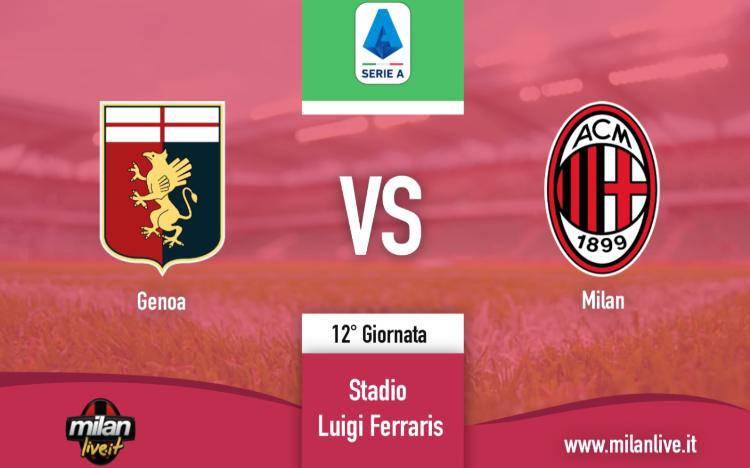 Genoa Milan live diretta