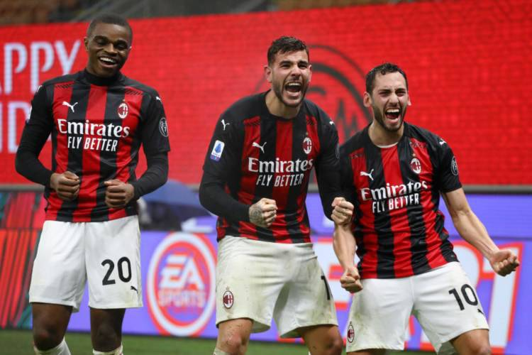 Milan differenze 2019-2020