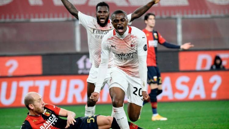 Kalulu gol Genoa Milan