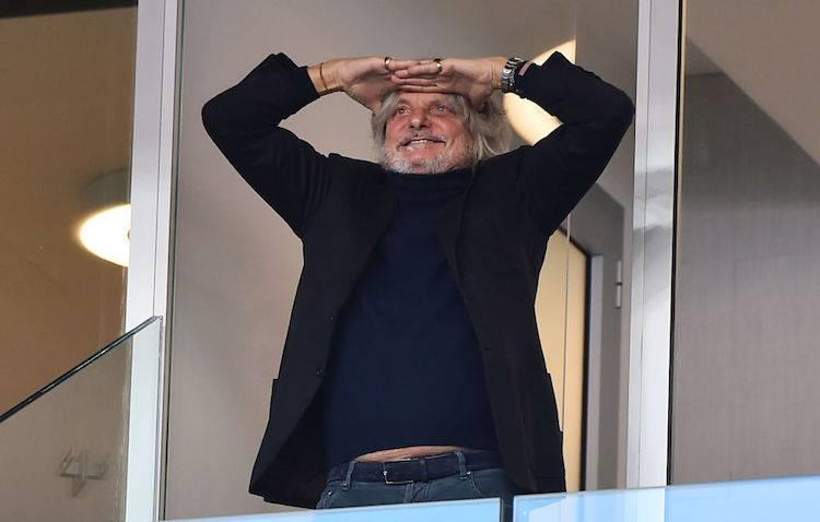 Massimo Ferrero su Samp-Milan