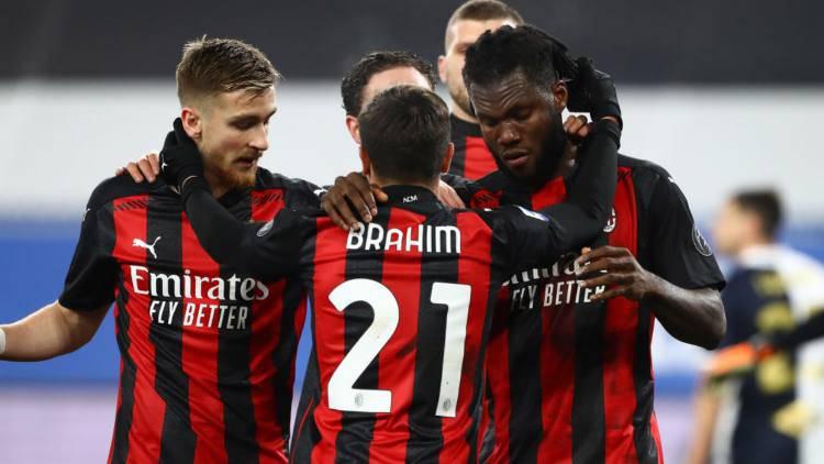 Milan record gol