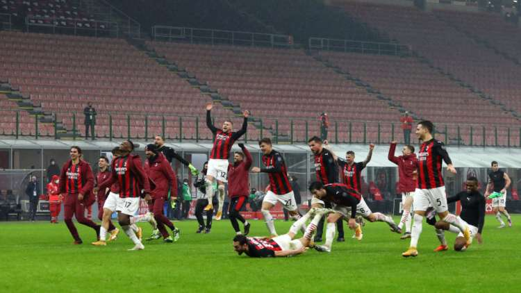Milan punti classifica campionato