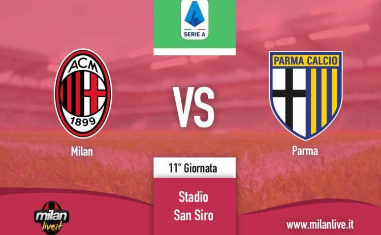 Milan Parma diretta live tempo reale