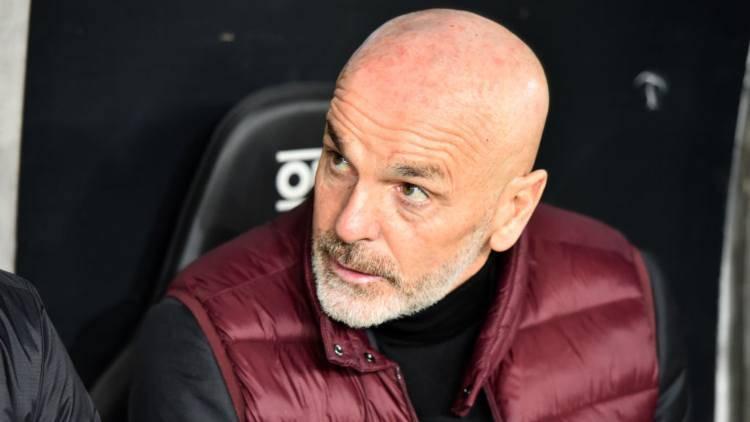 Pioli conferenza Milan Lazio