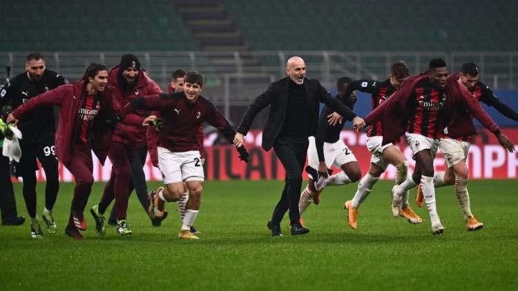 Pioli Milan Lazio festa