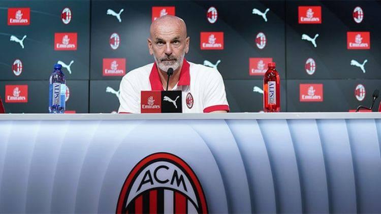 Pioli conferenza stampa Sassuolo Milan