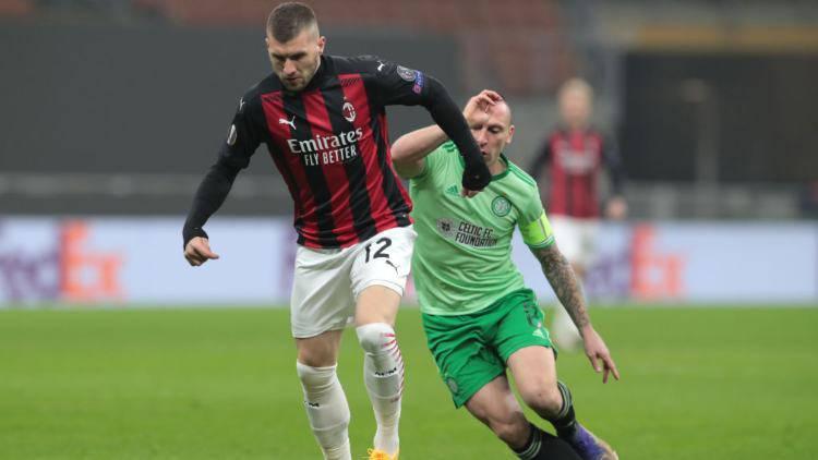 Ante Rebic pagelle Milan Celtic