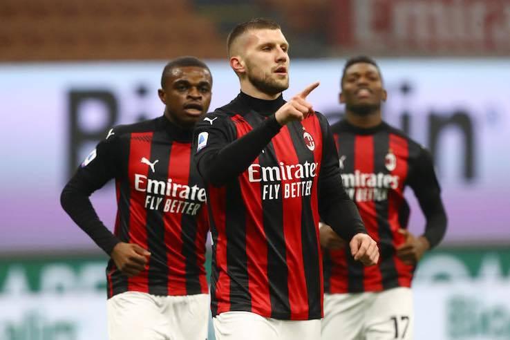 Milan Lazio rigore