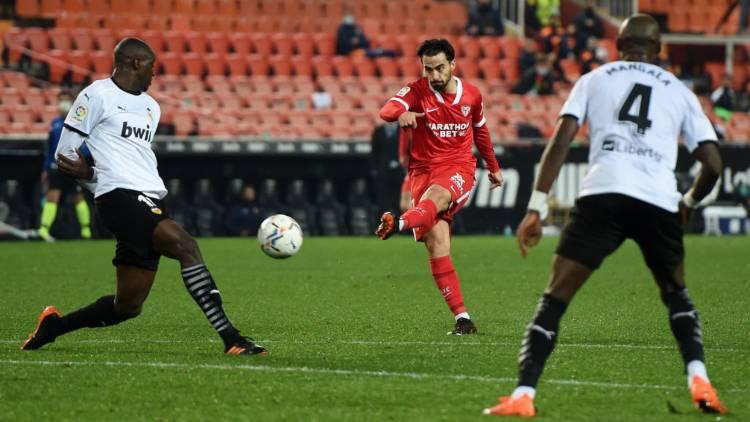 Jesus Suso gol Valencia Siviglia