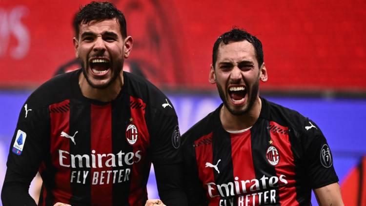 Theo Hernandez Milan Lazio