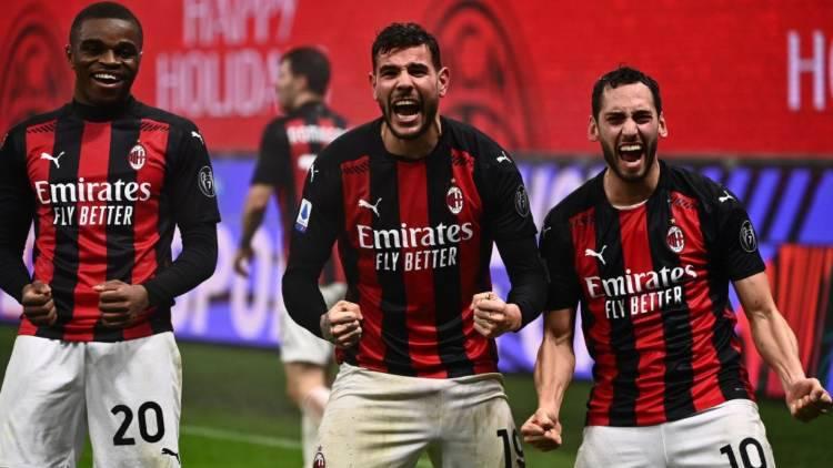 Theo Hernandez gol Milan affonda Lazio