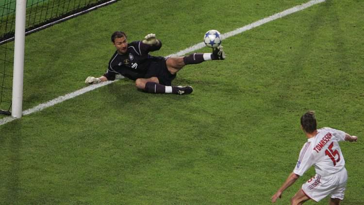 Tomasson retroscena Milan Liverpool 2005