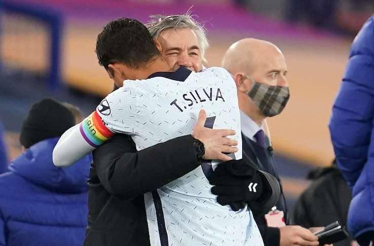 Thiago Silva Ancelotti