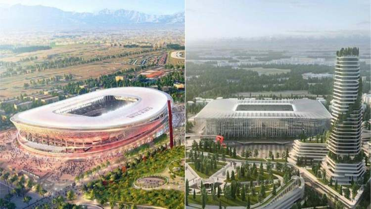 Milan nuovo stadio Populous Sportium