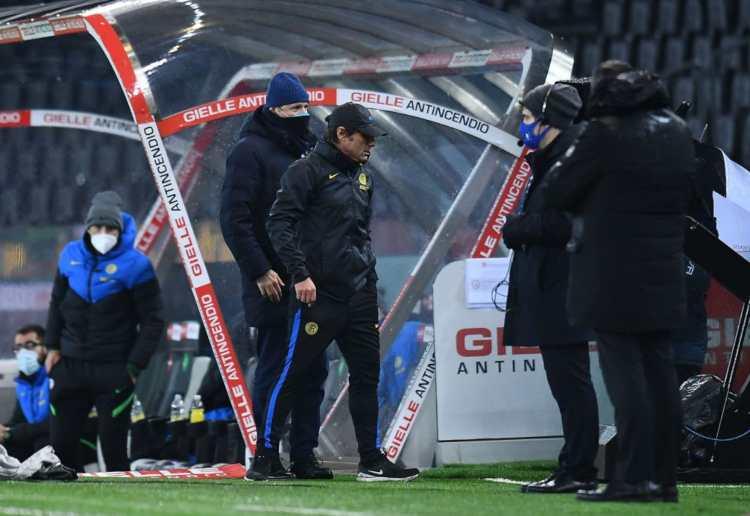 Conte fuorioso Udinese Inter