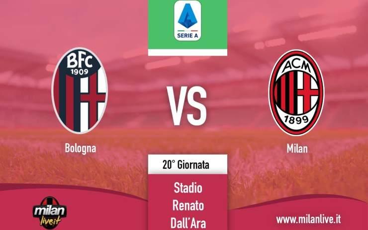 Bologna Milan diretta live