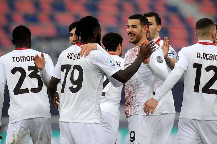 Bologna Milan pagelle