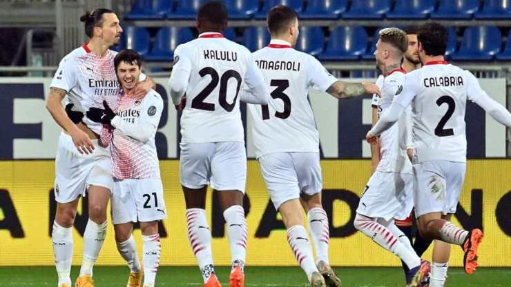 Cagliari Milan campione inverno spiegazione