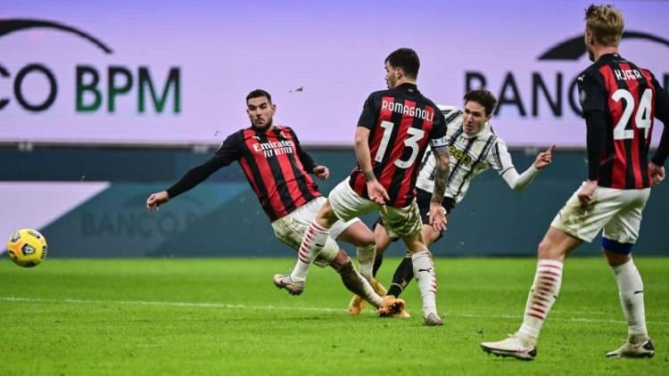 Romagnoli Theo Hernandez pagelle Milan Juve