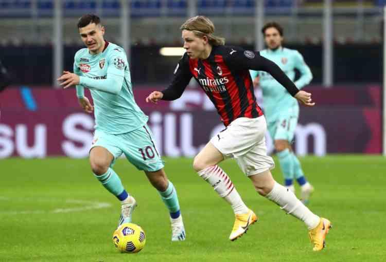 Coppa Italia Milan-Torino