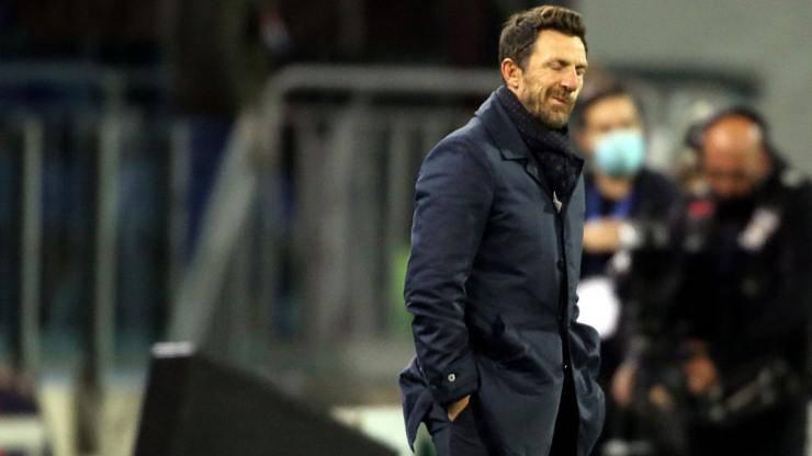 Di Francesco rigore Cagliari Milan