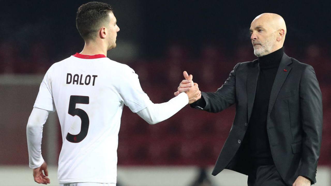 """Dalot: """"Al Milan per Maldini. Pioli essenziale per la squadra"""""""