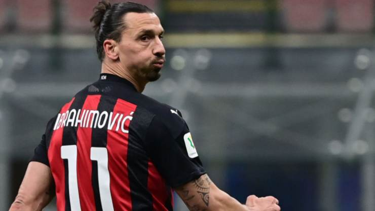 Ibrahimovic titolare Cagliari Milan obiettivo