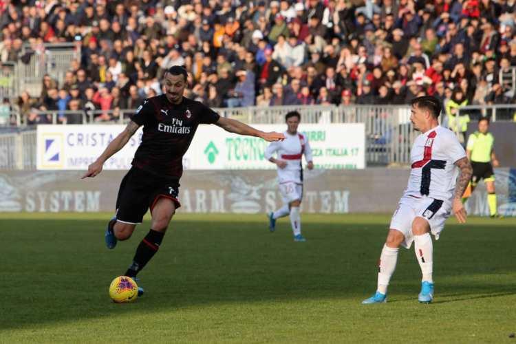 Ibra gioca a Cagliari