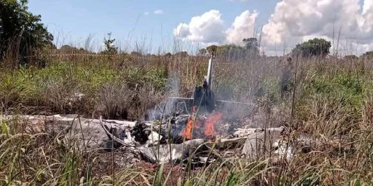 Palmas incidente aereo brasile