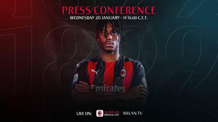 Milan Meite conferenza stampa