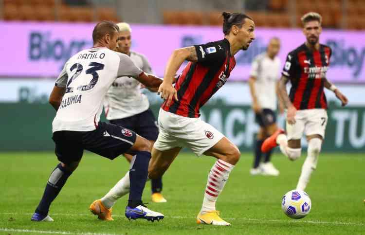 Kessié e Rebic stendono anche il Bologna: Milan sempre più primo
