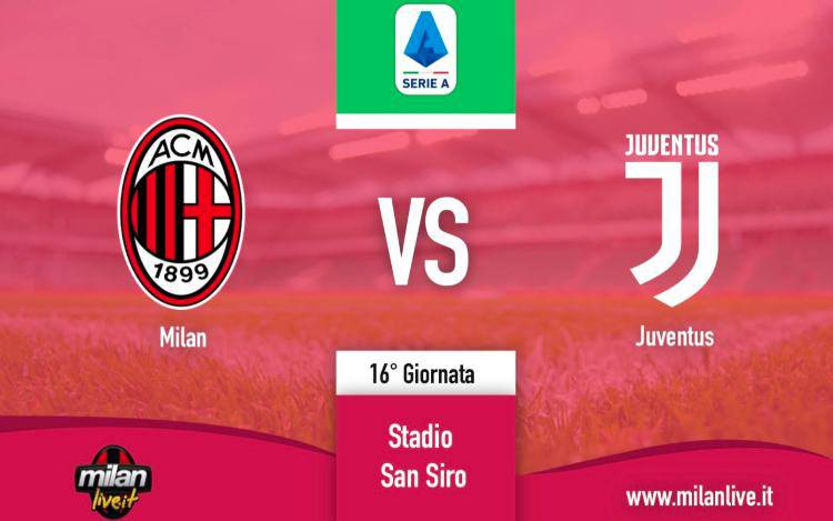 Milan Juve diretta live risultato