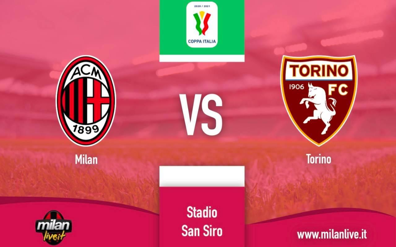 Milan Torino diretta live risultato tempo reale