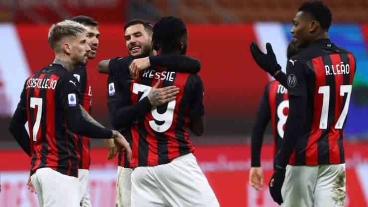 Milan campione inverno se